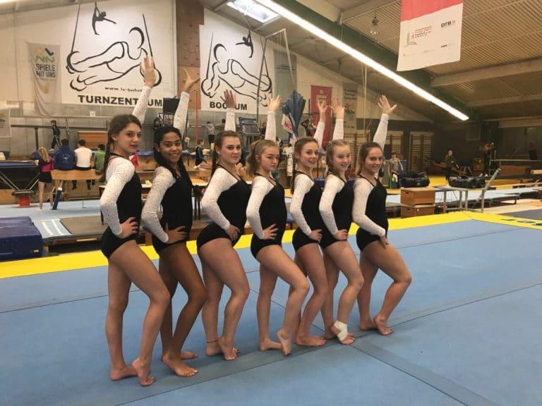 Turnerinnen der GSF erfolgreich beim Bezirksfinale von Jugend trainiert für Olympia